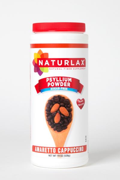 Amaretto Cappuccino Flavored Psyllium Husk Powder