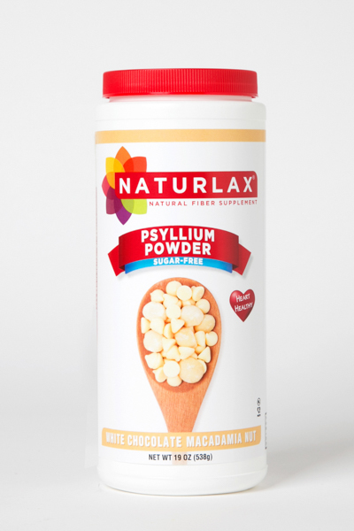 White Chocolate Macadamia Nut Flavored Psyllium Husk Powder