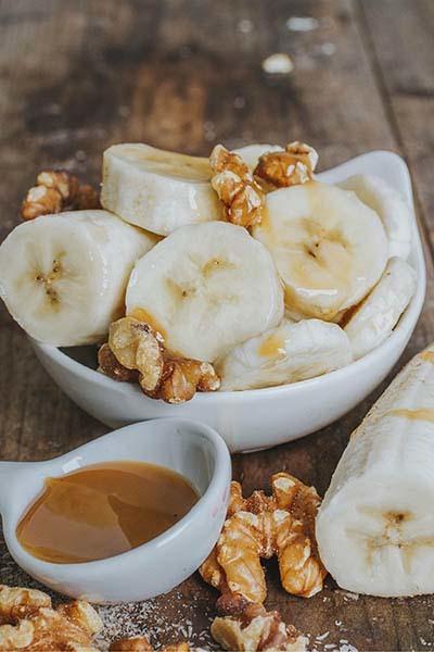 Banana Foster Flavored Psyllium Husk Powder