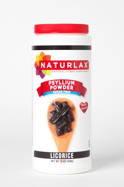 Licorice Flavored Psyllium Husk Powder