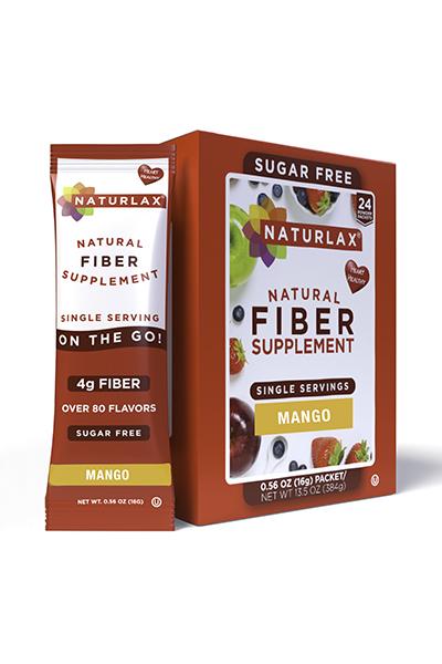 Mango Flavored Fiber Packets (24-Pack)