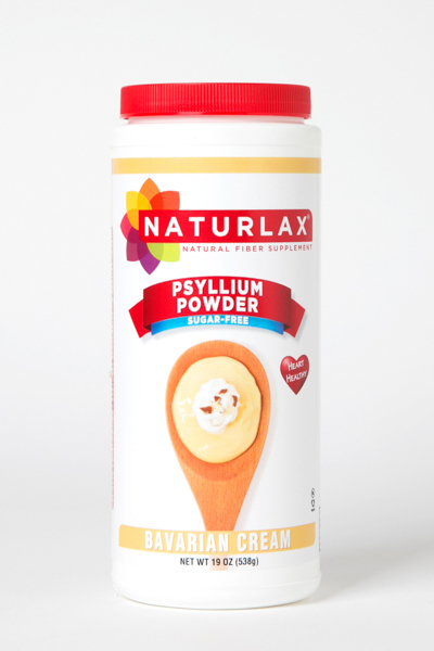 Bavarian Cream Flavored Psyllium Husk Powder