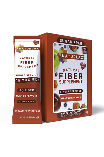Strawberry Cream Flavored Fiber Packets (24-Pack)