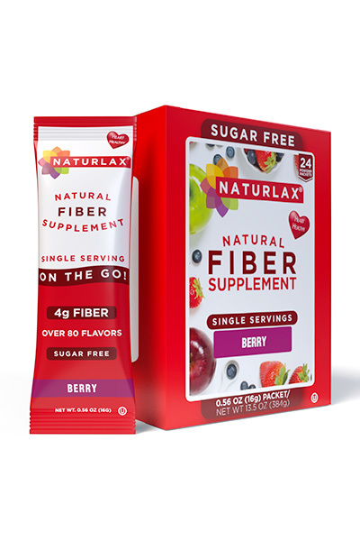 Berry Flavored Fiber Packets