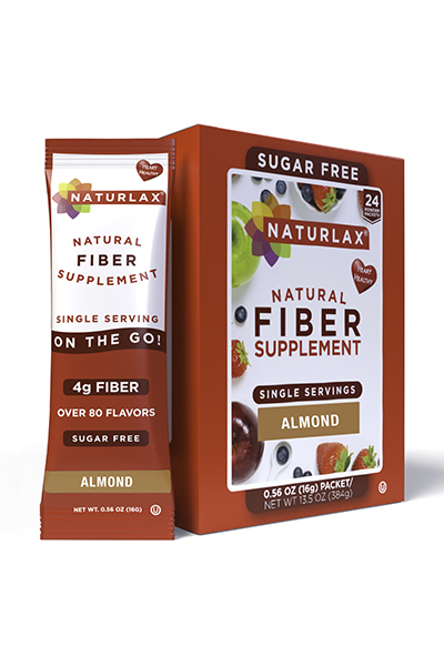 Almond Flavored Fiber Packets (24-Pack)