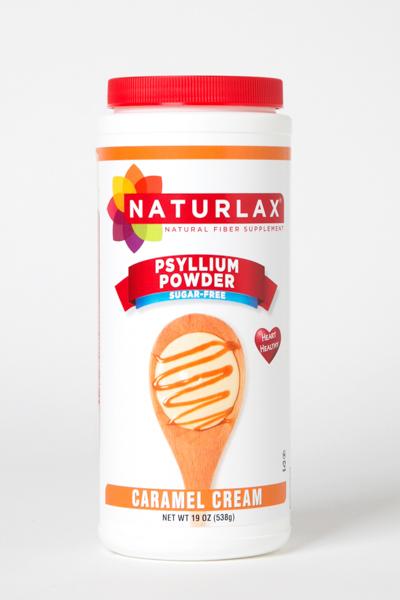 Caramel Cream Flavored Psyllium Husk Powder