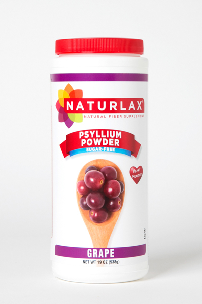Grape Flavored Psyllium Husk Powder