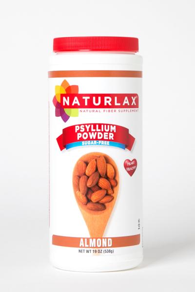 Almond Flavored Psyllium Husk Fiber Powder