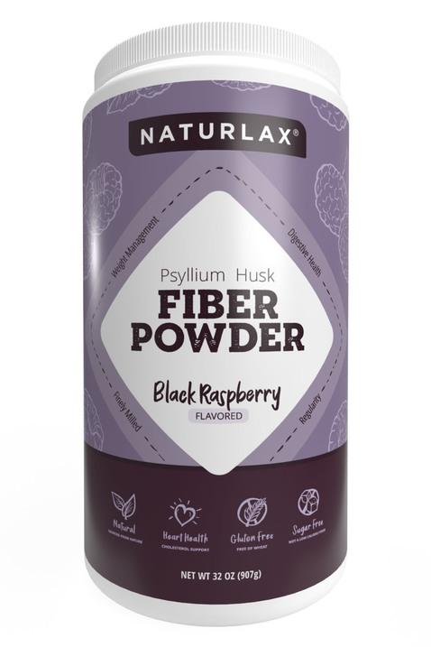 Black Raspberry Flavored Psyllium Husk Fiber Powder