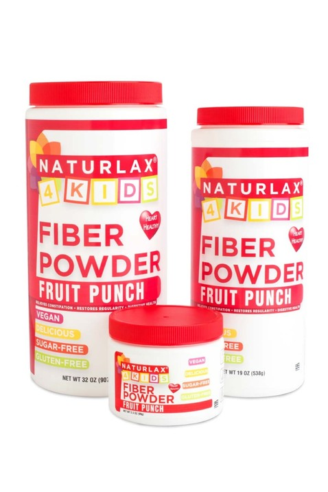 Fruit Punch Flavored Fiber for Kids 3.5oz