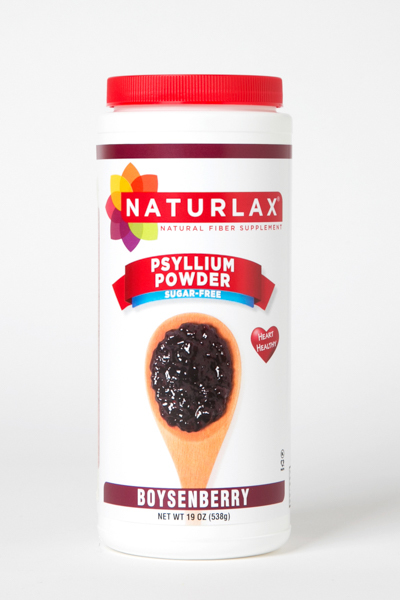 Boysenberry Flavored Psyllium Husk Fiber Powder