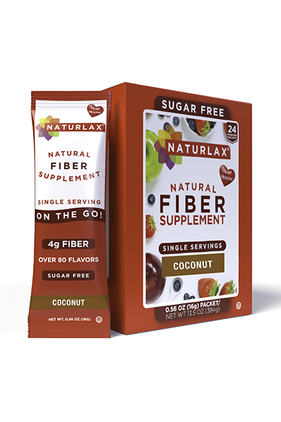 Coconut Flavored Fiber Packets (24-Pack)