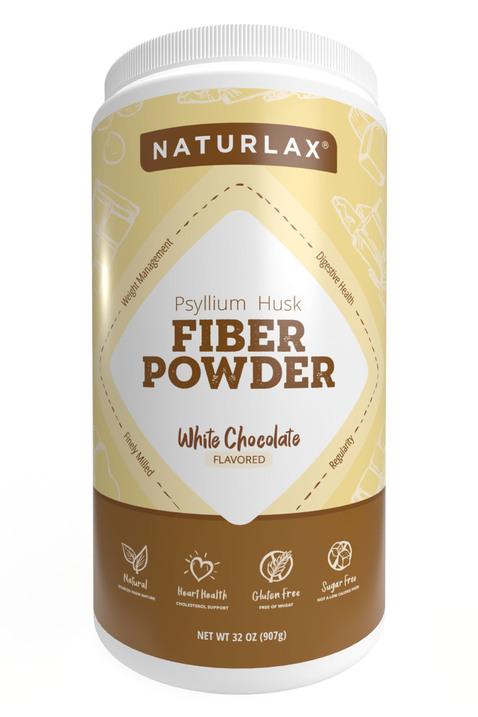 White Chocolate Flavored Psyllium Husk Powder