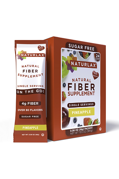 Pineapple Flavored Fiber Packets (24-Pack)
