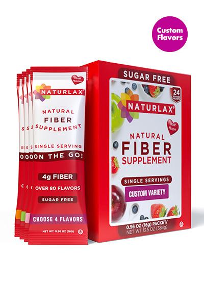 Custom Flavors Variety Fiber Pack