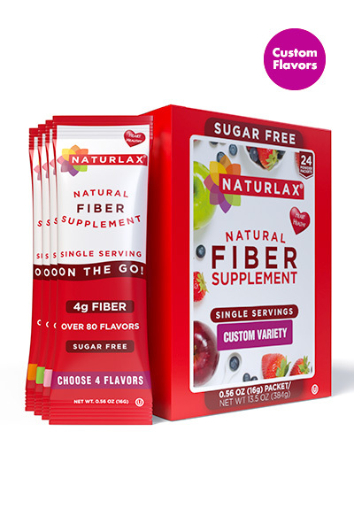 Custom Flavors Variety Fiber Packets (24-Pack)