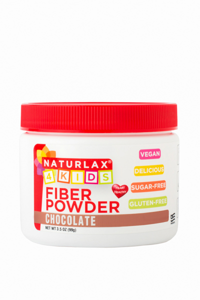 Chocolate Flavored Fiber for Kids 3.5oz