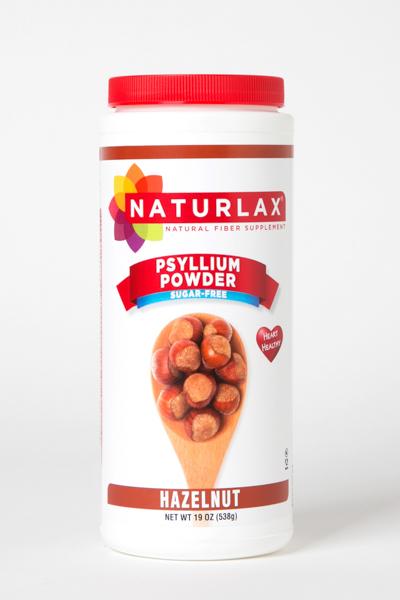 Hazelnut Flavored Psyllium Husk Powder
