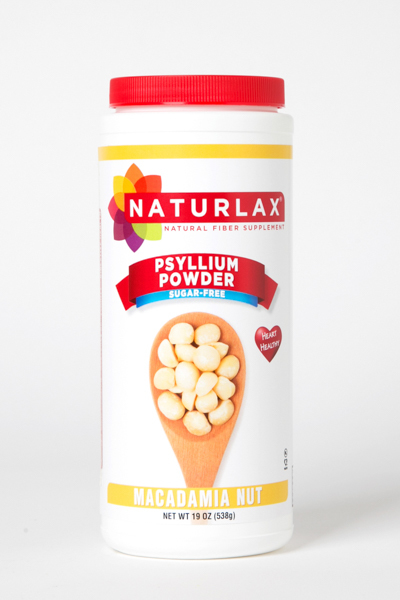 Macadamia Nut Flavored Psyllium Husk Powder