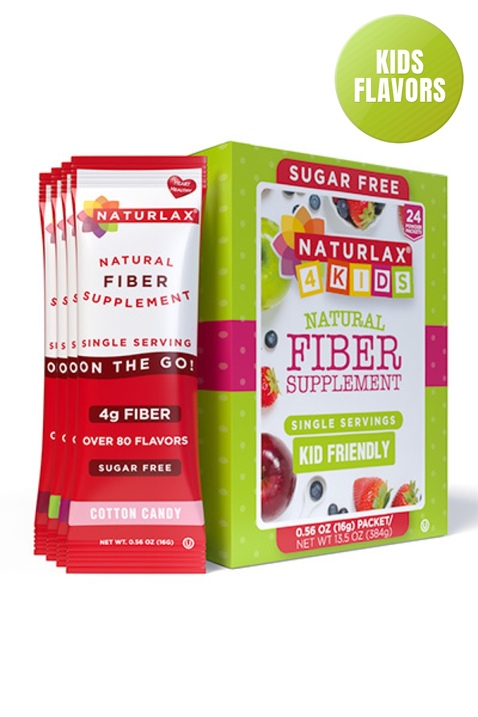 """Kid Friendly Flavors Variety Fiber Packets (24-Pack) """"Adults can have it too"""""""