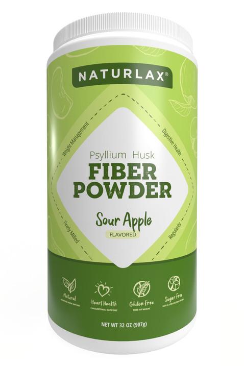 Sour Apple Flavored Psyllium Husk Powder