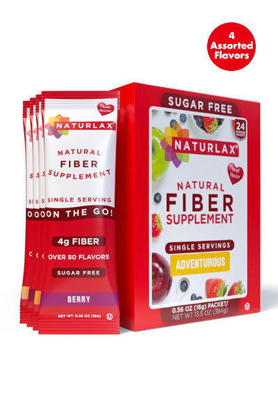 Adventurous Flavors Variety Fiber Packets (24-Pack)