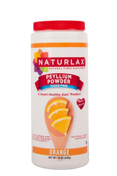 Orange Flavored Psyllium Husk Powder