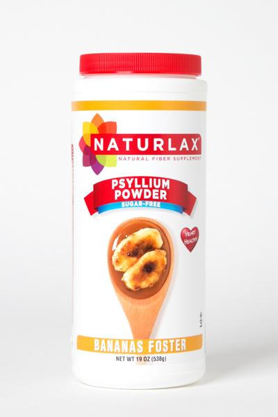 Banana Foster Flavored Psyllium Husk Fiber Powder