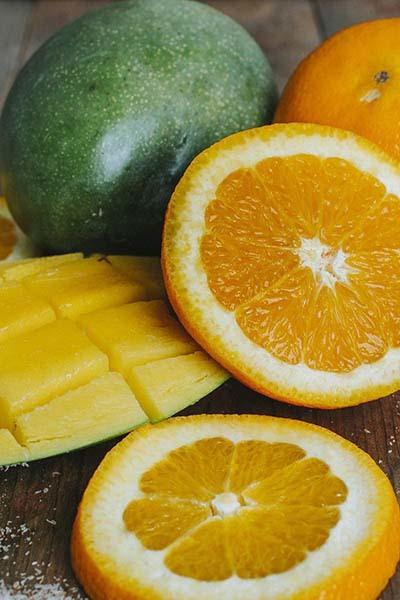Orange Mango Passion Flavored Psyllium Husk Powder