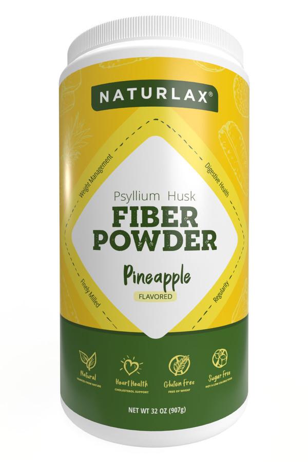 Pineapple Flavored Psyllium Husk Fiber Powder