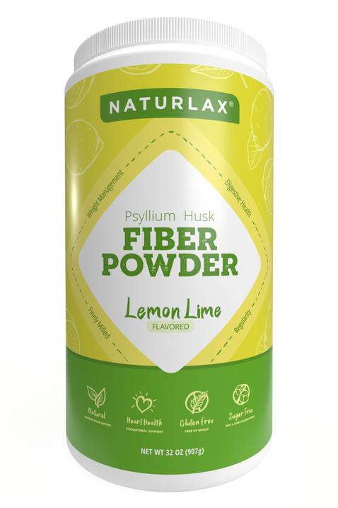 Lemon Lime Flavored Psyllium Husk Powder