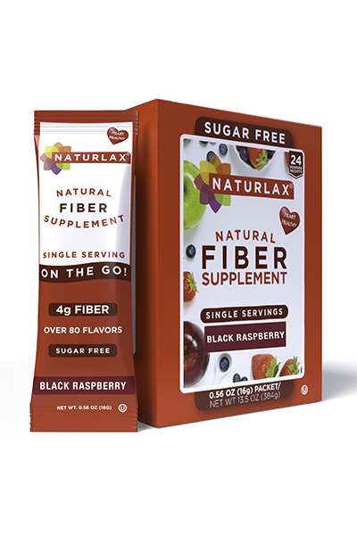 Black Raspberry Flavored Fiber Packets (24-Pack)