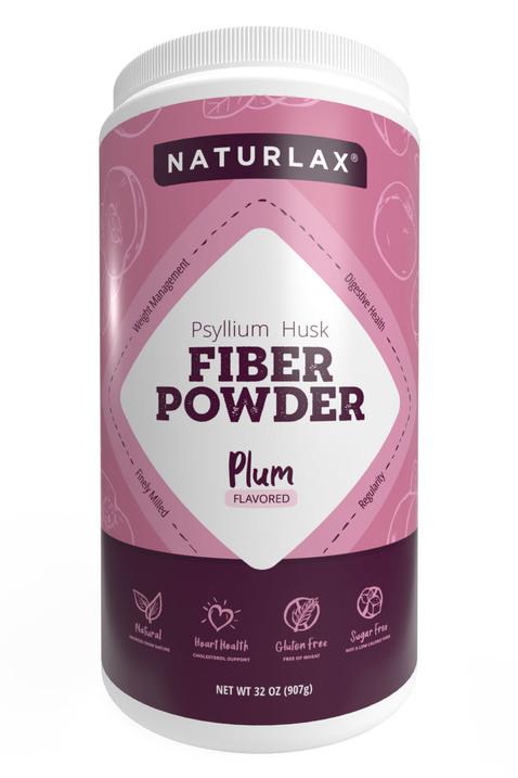 Plum Flavored Psyllium Husk Powder