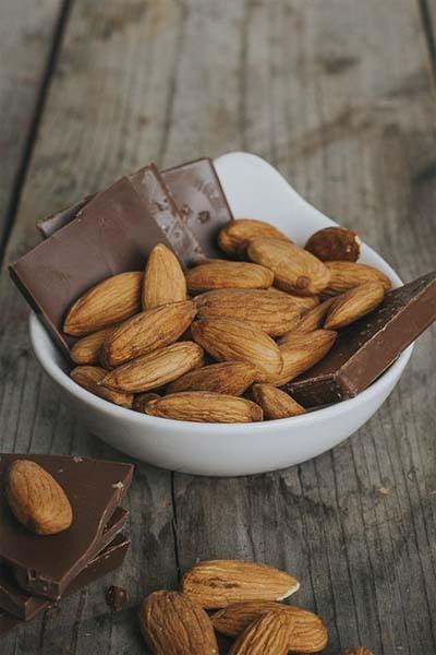 Chocolate Almond Flavored Psyllium Husk Powder