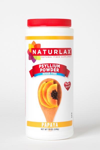 Papaya Flavored Psyllium Husk Powder