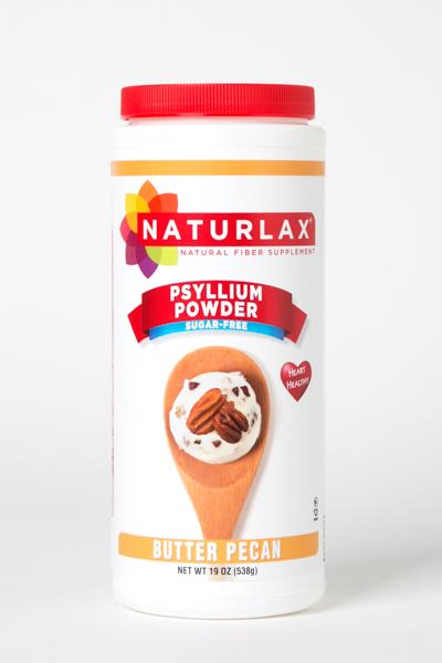 Butter Pecan Flavored Psyllium Husk Powder